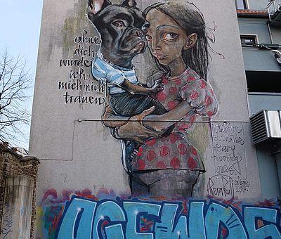 Herakut, Venloer Straße ©Jesse von Laufenberg, KölnTourismus GmbH