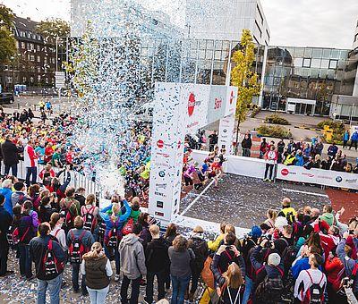 RheinEnergieMarathon 2017, Start ©Köln Marathon