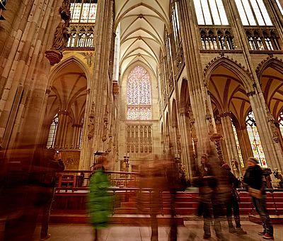 Richterfenster im Kölner Dom ©Axel Schulten, KölnTourismus GmbH