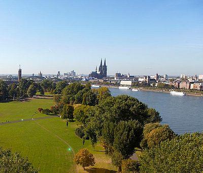Kölner Rheinpark ©KölnTourismus GmbH, Dieter Jacobi