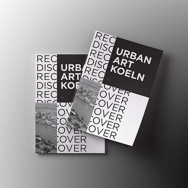 Stadtplan 'Recover Discover – Urban Art Koeln' des artrmx e.V. ©www.pomesone.com