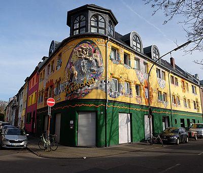 Captain Borderline, Escher Straße ©Jesse von Laufenberg, KölnTourismus GmbH