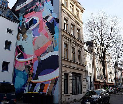 SatOne, Merheimer Straße ©Jesse von Laufenberg, KölnTourismus GmbH